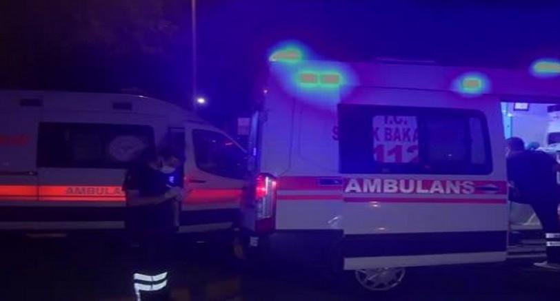 İki Araç Çarpıştı 2'si Çocuk, 6 Yaralı