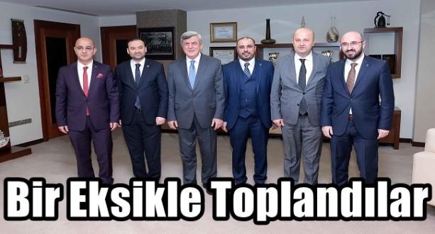İl Başkanları Büyükşehirde Biraraya Geldiler