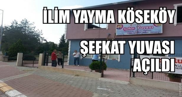 İlim Yayma Cemiyeti Koseköy Şefkat Yuvası Eğitime Hazır.