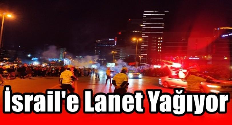 İsrail'e Lanet Yağıyor