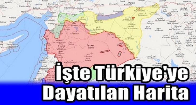 İşte Suriye'de Türkiye'ye Dayatılan Harita