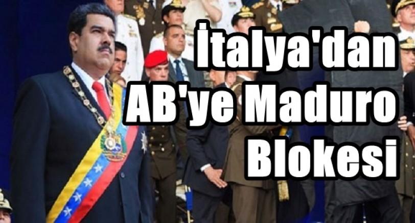İtalya'dan AB'ye Venezuella Blokesi