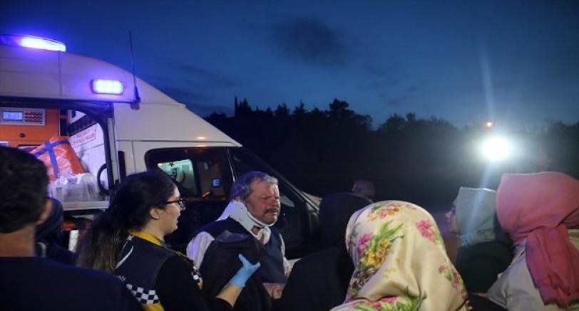 İzmit'te Feci Kaza 5 Yaralı