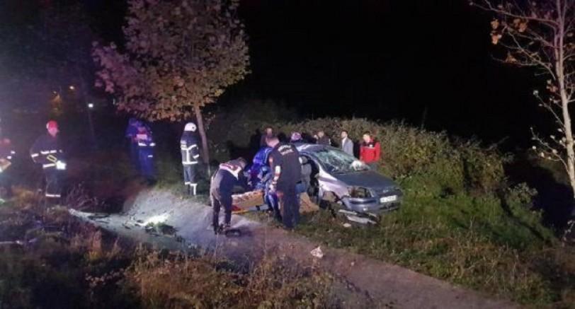 Kandıra Yolunda Feci Kaza 5 Ölü 4 Yaralı