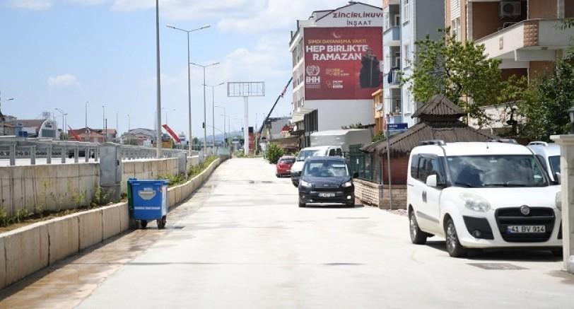 Kartepe Ankara Caddesine Beton Kaplama