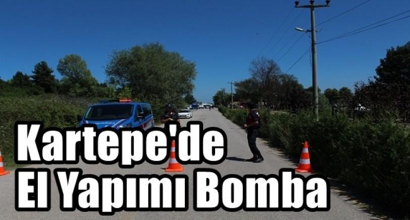 Kartepe'de El Yapımı Bomba Patladı