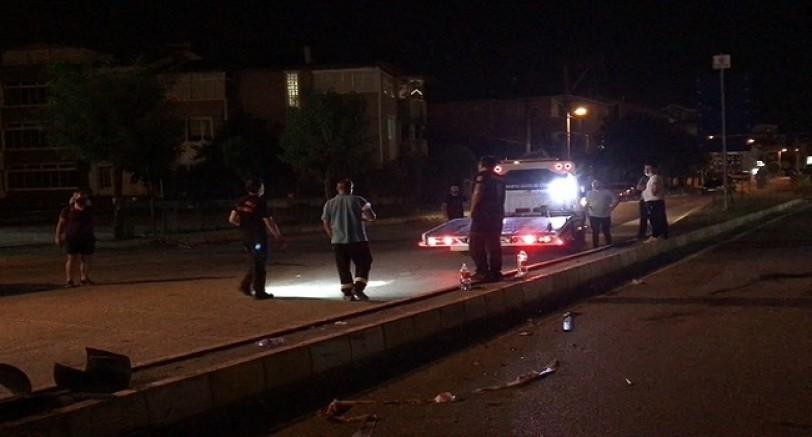 Kartepe'de Feci Kaza 9 Yaralı