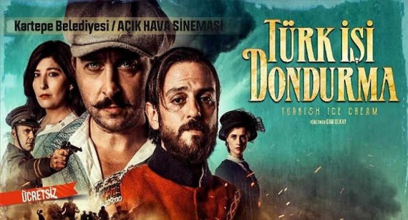 Kartepe'de 'Türk İşi Dondurma' Sinema Gecesi