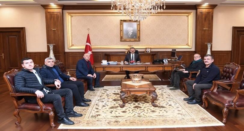 Kartepe'den Vali Aksoy'a Ziyaret