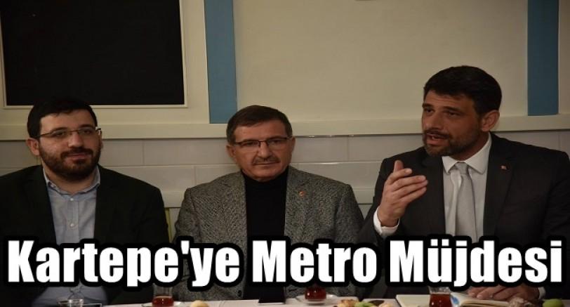 Kartepe'ye Metro Müjdesi