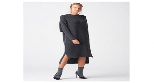 Kışlık Bayan Elbise Modelleri