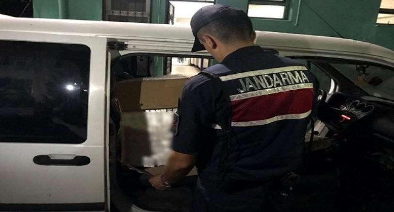 Kocaeli'de 2 Bin Paket Kaçak Sigara