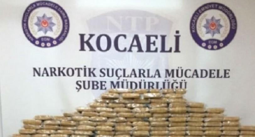 Kocaeli'de 4.5 Kg Uyuşturucu Ele Geçirildi