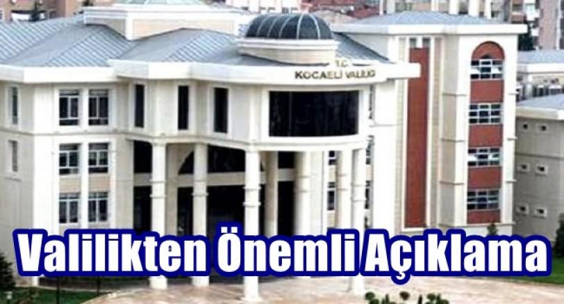Kocaeli'de Her Türlü Siyasi Eylem ve Etkimlik Yasaklandı