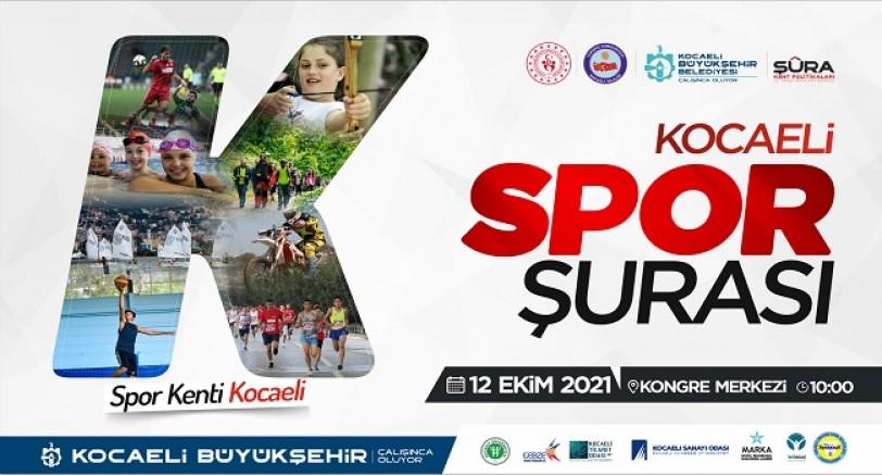 Kocaeli'de Spor Şurası Toplanıyor