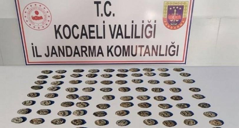 Kocaeli'de Tarihi Eser Operasyonu 7 Gözaltı