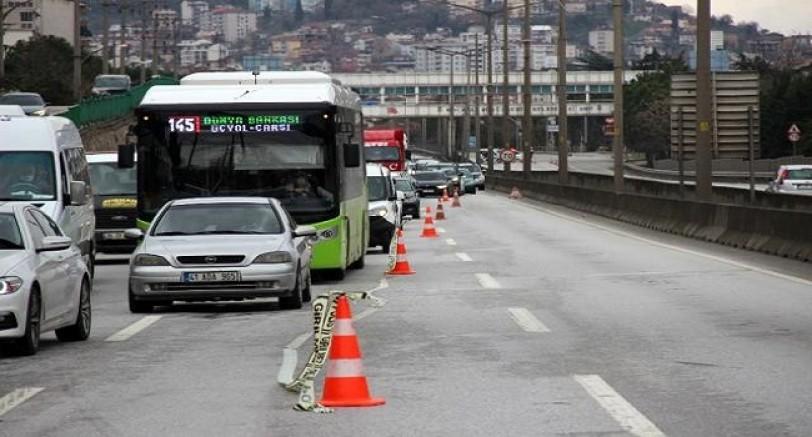 Kocaeli'de Zincirleme Trafik Cezası Sürücüler Şaşkın