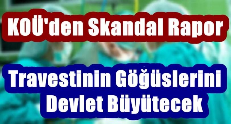 Kocaeli Üniversitesinden Skandal Rapor
