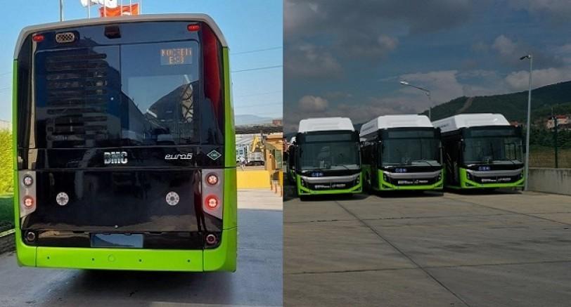 Kocaeli'ye Gıcır Gıcır Otobüsler