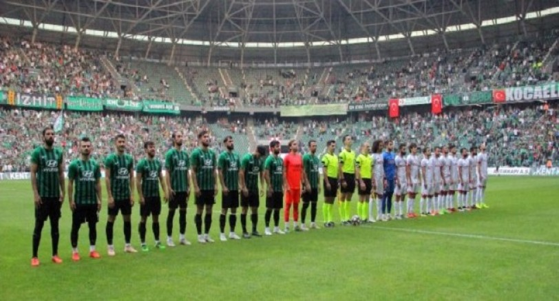 Kocaelispor Play Off'u Geçemedi