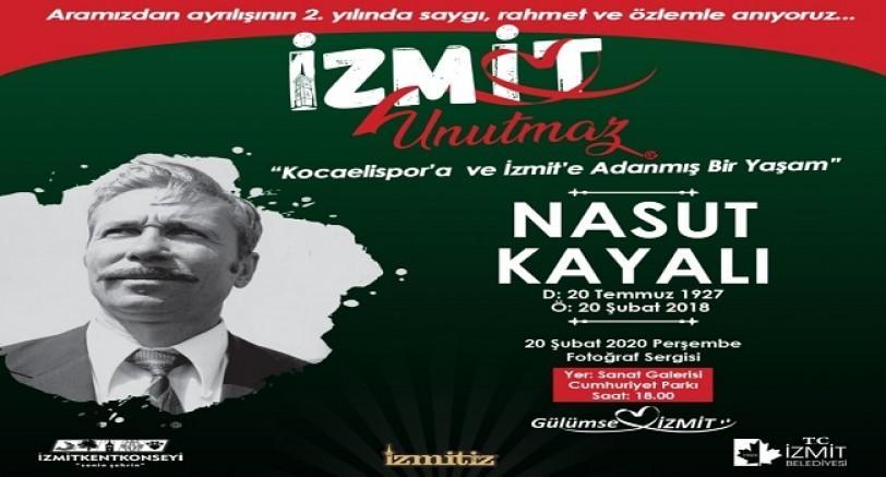 Kocaelispor'un Efsanelerinden Nasut Kayalı Anılacak