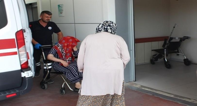 Kocası Tarafından Darp Edilen Kadın Komşuya Sığındı
