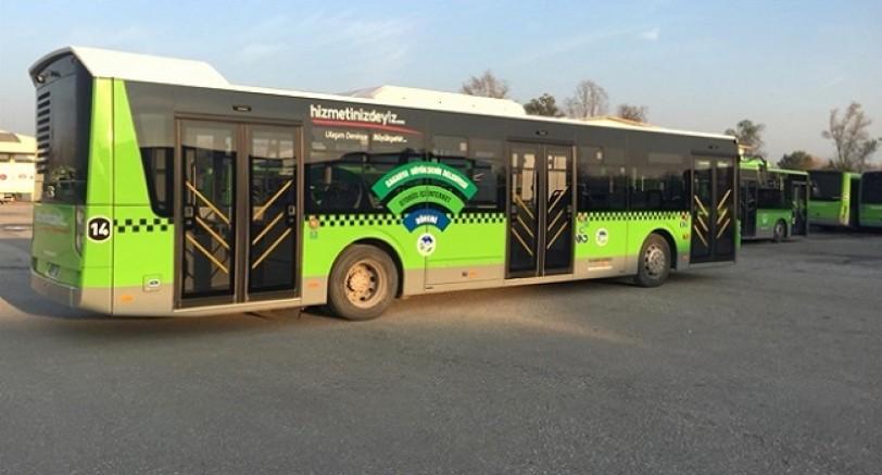 Komşuda Belediye Otobüslerinde İnernet Hizmeti