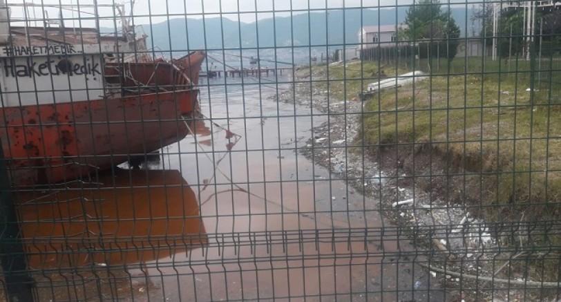 Körfez'deki Kirliliğe Büyükşehir'den Açıklama