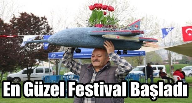 Lale Festivalı Renkli Başladı