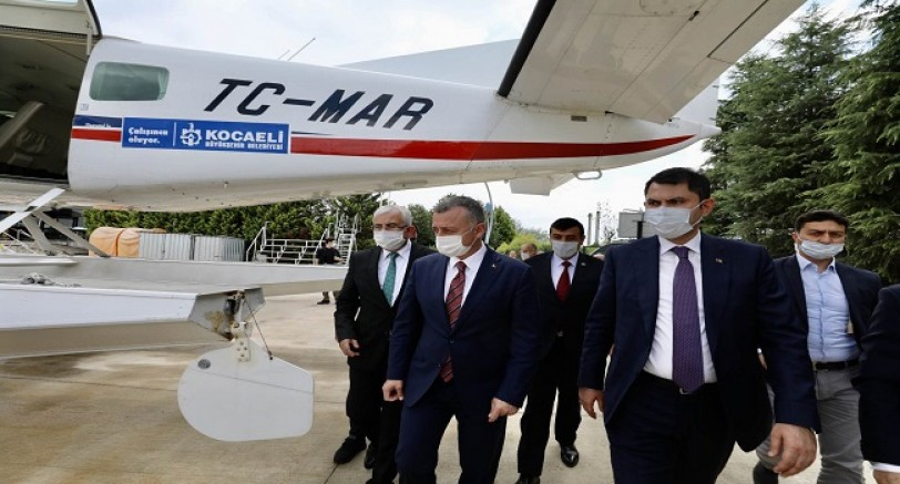 Marmara Büyükşehir'in Uçağına Emanet
