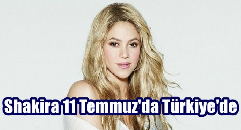 Merhaba Türkiye ben Shakira