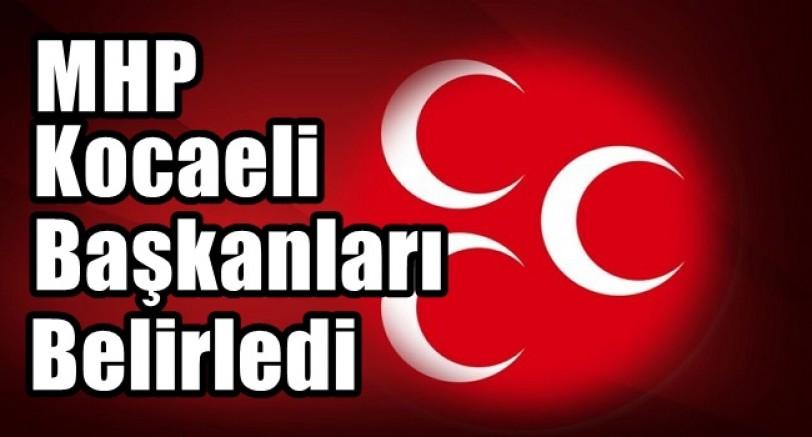 MHP Kocaeli'de İlçe Başkanları Belirlendi
