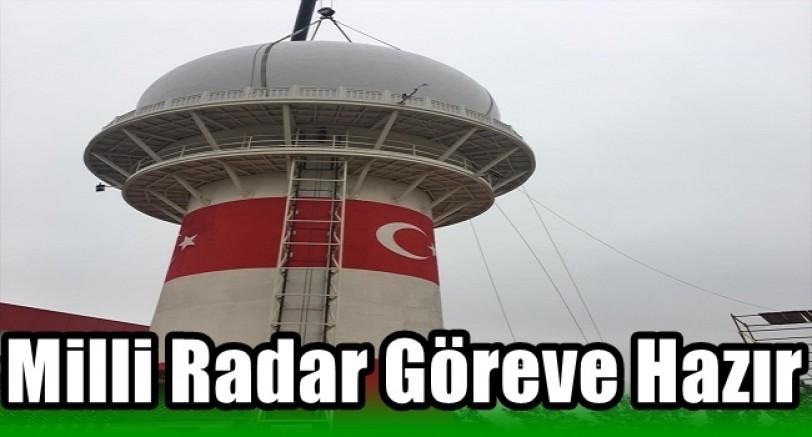 Milli Radar Göreve Hazır