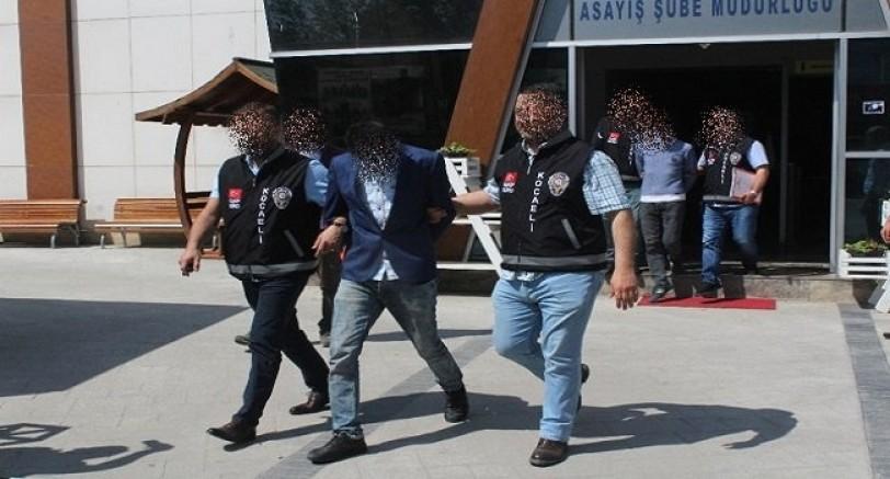 Mobilize Gaspçılar Yakalandı