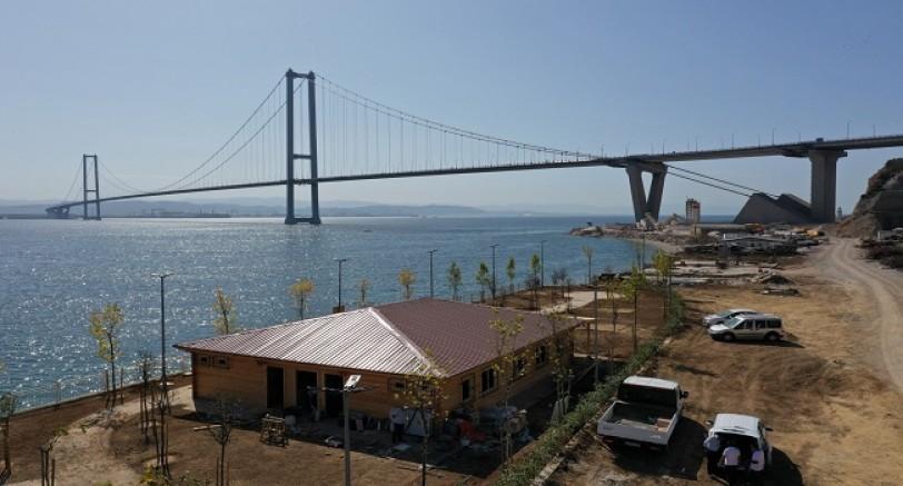 Osmangazi Köprüsü Manzaralı Sahil
