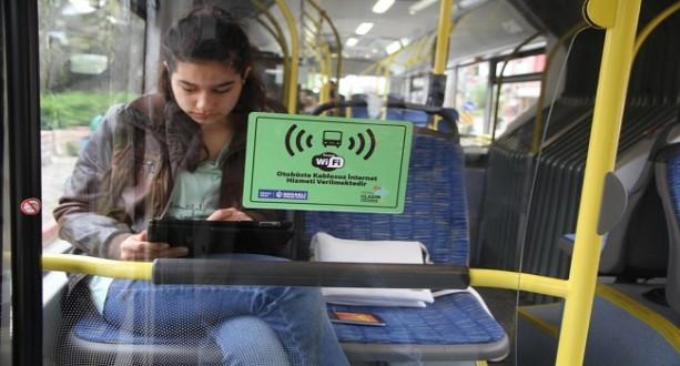 Otobüslerde Ücretsiz Wi-Fi