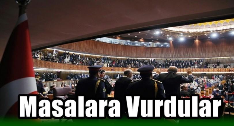 Pakistan Meclisinde İlginç Olay