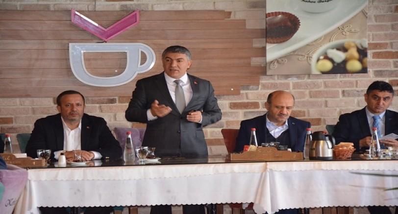 Şayir 'Kentimizi Ortak Akılla Yöneteceğiz'
