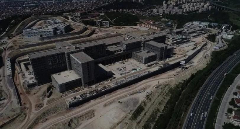 Şehir Hastanesinin Yüzde 62'si Tamamlandı