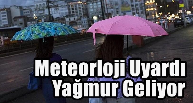 Sıcaklık Düşüyor Yağmur Geliyor