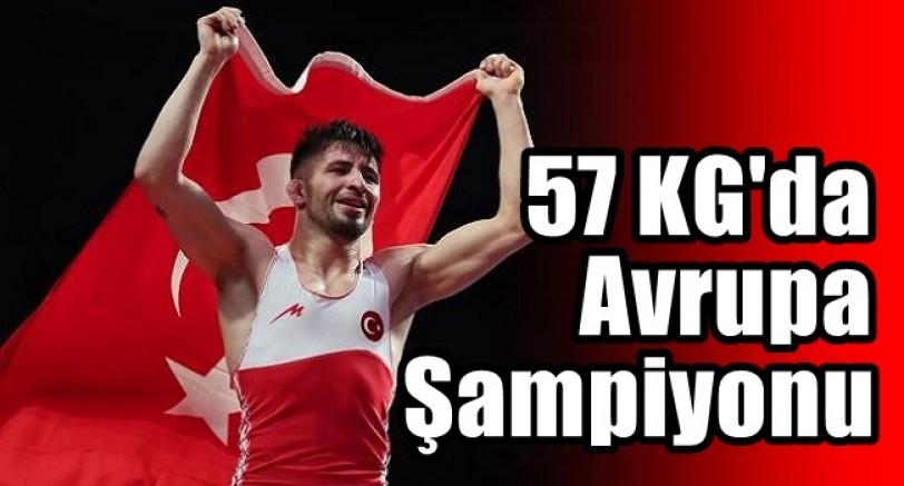 Süleyman Atlı 57 Kg'da Avrupa Şampiyonu Oldu