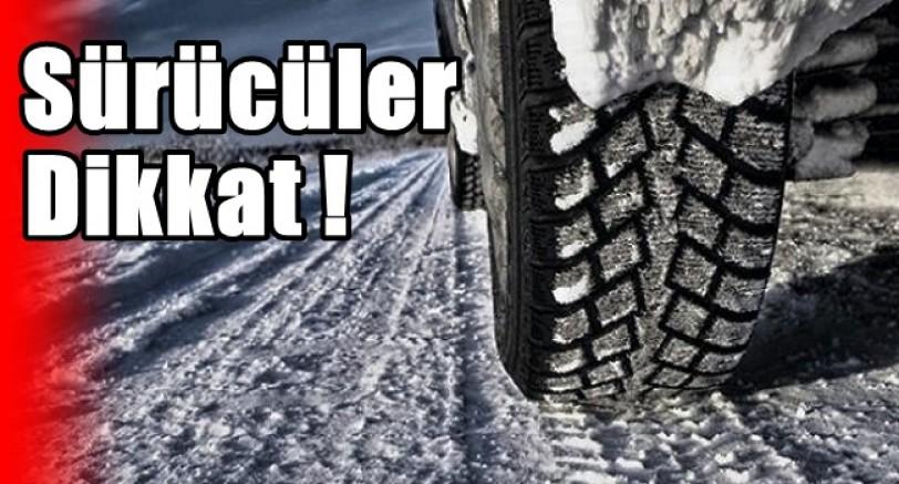 Sürücüler Dikkat 1 Aralık'ta Başlıyor