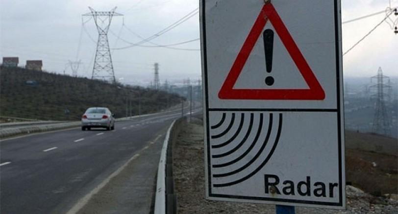 Sürücülere Müjde Artık Radar Noktaları Bilinecek