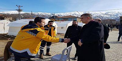 Başkan Sezer Malatya'da