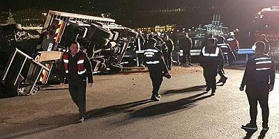 Kocaeli'de Feci Kaza 2 Ölü 8 Yaralı
