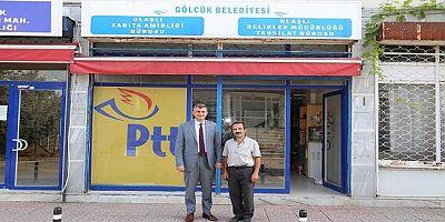 Ulaşlı'ya PTT Acentası