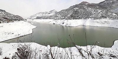 Yuvacık Barajında Su Seviyesi Yükseliyor