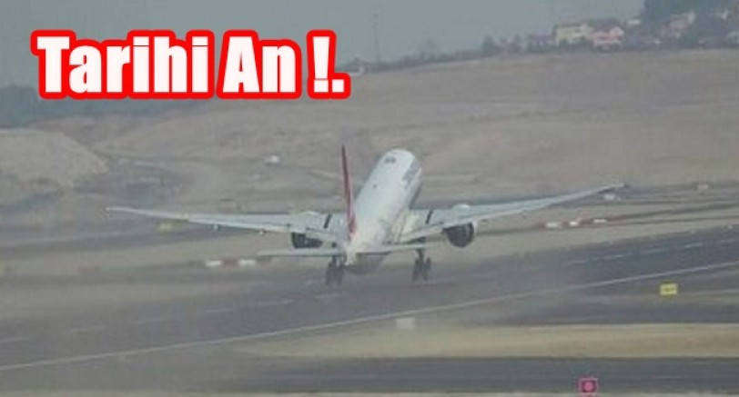 Tarihi An İlk Uçuş Gerçekleşti