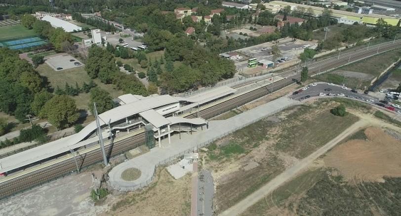 Tren İstasyonuna 150 Araçlık Otopark