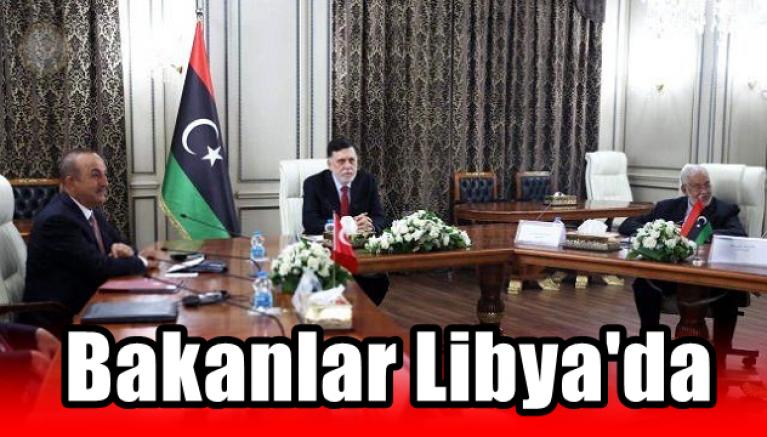 Türk Bakanlardan Libya Çıkarması